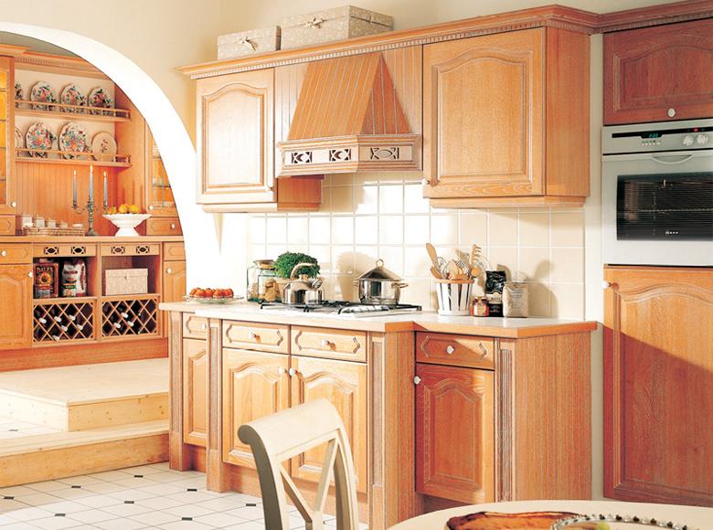 Rideaux Blanc Pour Salon : cuisine Schmidt, modèle Chaillot